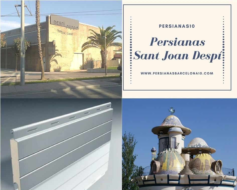 Persianas Sant Joan Despí reparaciones, instalaciones y motorización