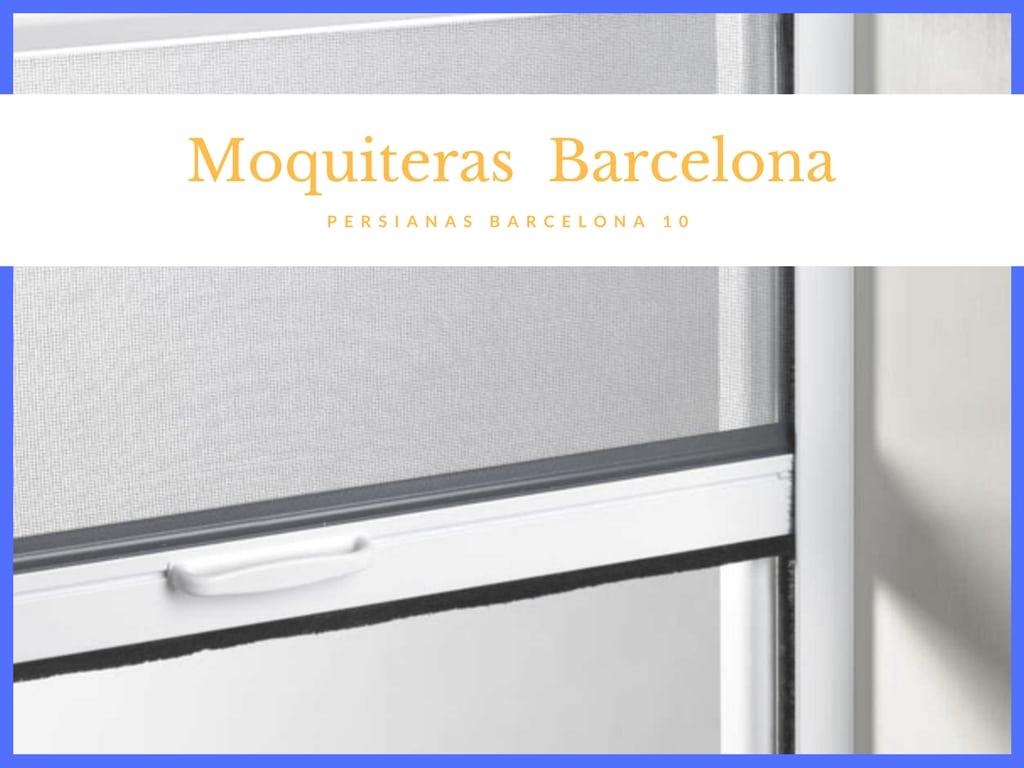Mosquiteras en Barcelona