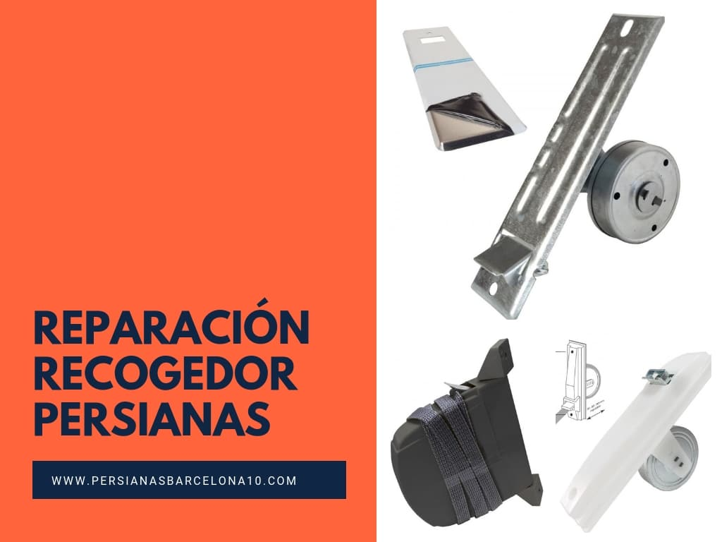 Reparación Recogedor de persiana en Barcelona
