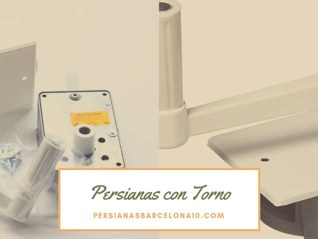 Reparación de persiana con Torno