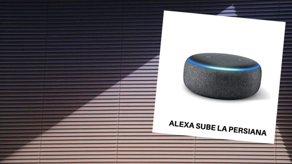 Alexa persianas en el prat