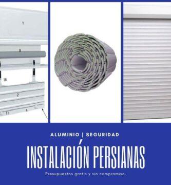instalación persianas